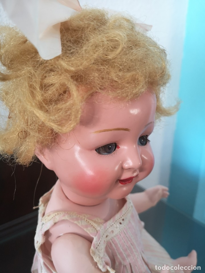Muñecas Porcelana: PRECIOSA MUÑECA ALEMANA BEBE ,MARCADA EN LA NUCA ,AÑOS 30 - Foto 3 - 162976670