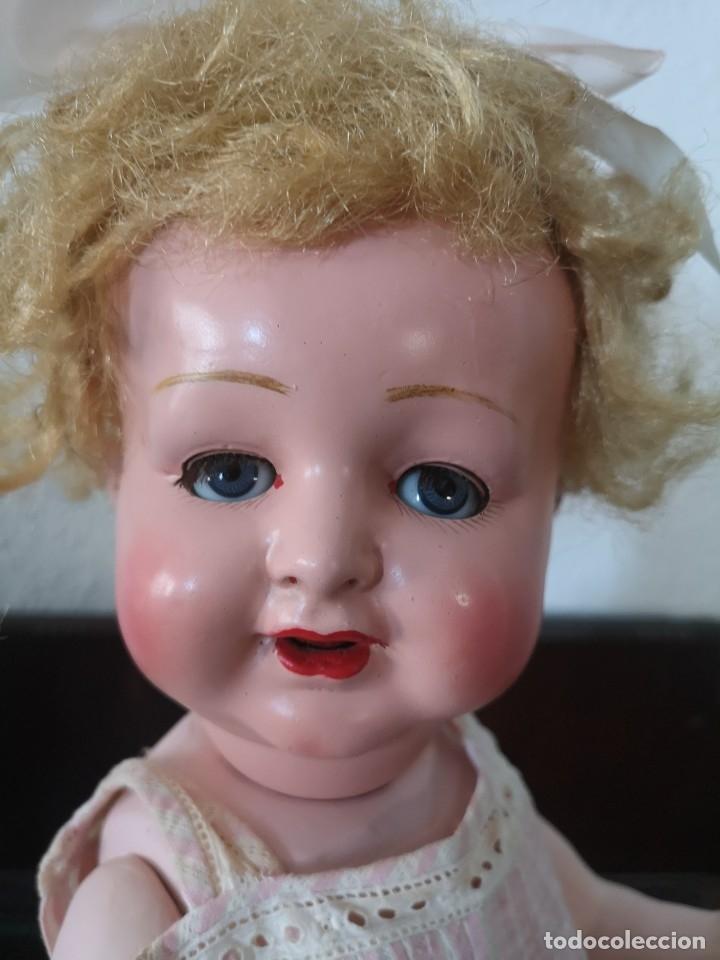 Muñecas Porcelana: PRECIOSA MUÑECA ALEMANA BEBE ,MARCADA EN LA NUCA ,AÑOS 30 - Foto 4 - 162976670