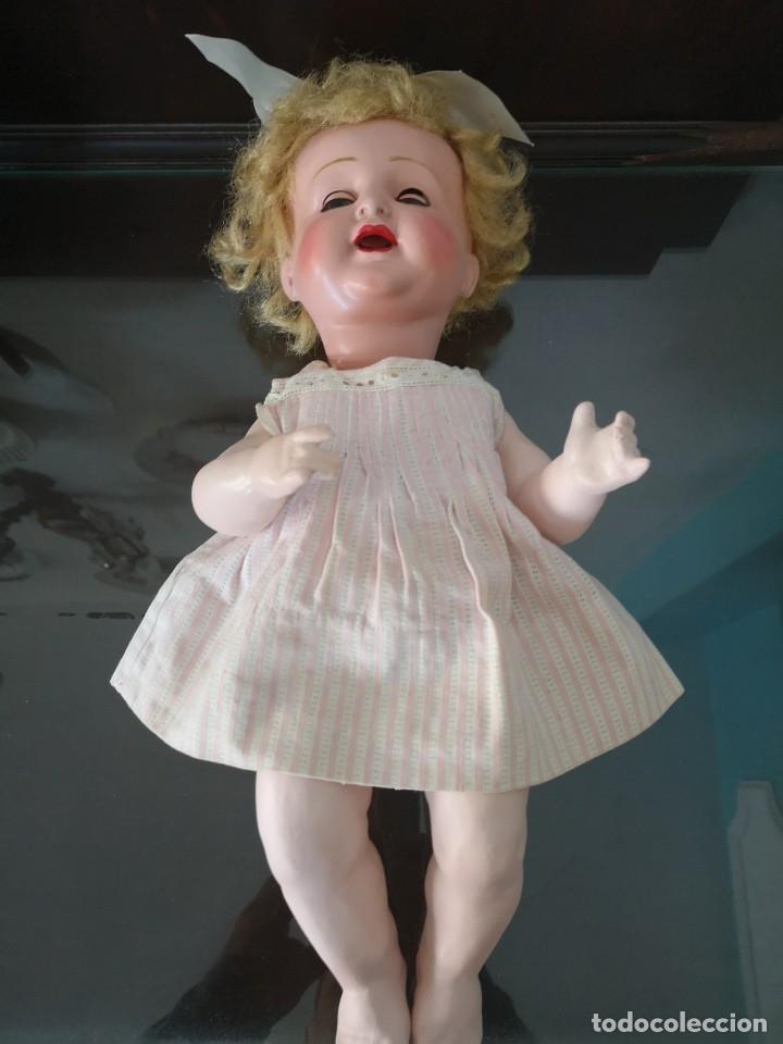 Muñecas Porcelana: PRECIOSA MUÑECA ALEMANA BEBE ,MARCADA EN LA NUCA ,AÑOS 30 - Foto 5 - 162976670
