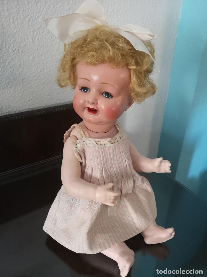 Muñecas Porcelana: PRECIOSA MUÑECA ALEMANA BEBE ,MARCADA EN LA NUCA ,AÑOS 30 - Foto 7 - 162976670