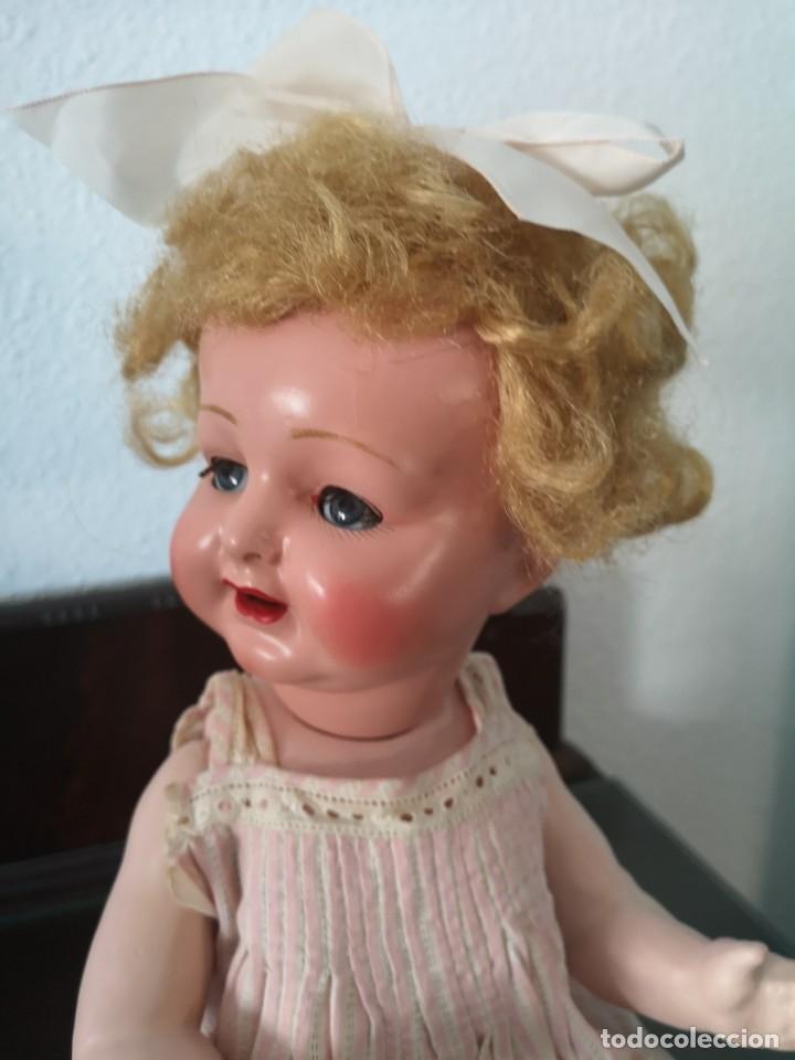 Muñecas Porcelana: PRECIOSA MUÑECA ALEMANA BEBE ,MARCADA EN LA NUCA ,AÑOS 30 - Foto 8 - 162976670