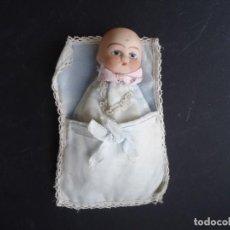 Muñecas Porcelana: MUÑECO-BEBE ANTIGUO DE PORCELANA. Lote 164593610