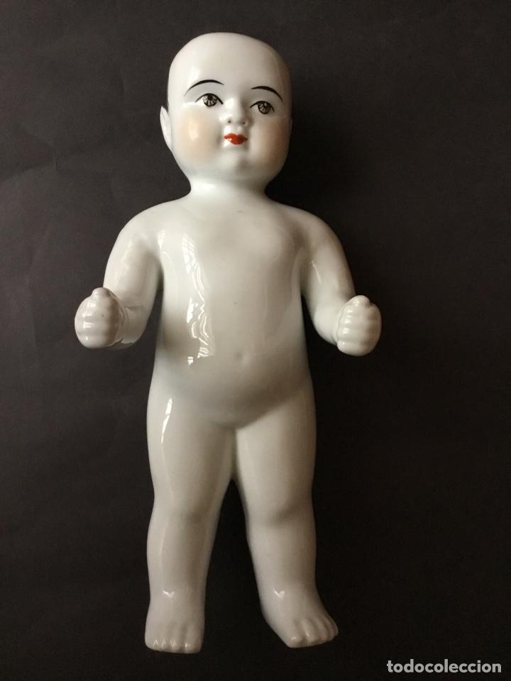 Muñecas Porcelana: Badepuppe o Frozen Charlie 30 cm, muñeco de baño - Foto 3 - 141558272