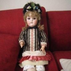 Muñecas Porcelana: ANTIGUA MUÑECA ALEMANA SIMON HALBIG Y HAMBERGER. MODELO SANTA . RARA. Lote 165812494