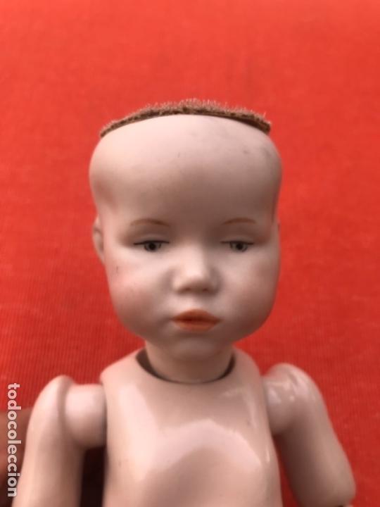 Muñecas Porcelana: Muñeco bebe cabeza biscuit kammer & reinhardt character doll marcada k R 101 ? reproduccion 25 cm - Foto 33 - 167164176
