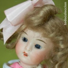 Muñecas Porcelana: MUÑECA ALEMANA DE BISCUIT ANTIGUA. Lote 167662972