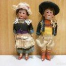 Muñecas Porcelana: PAREJA DE MUÑECAS DE PORCELANA ALEMANAS EN NUCA GERMANY A 1210 M ARMAND MARSEILLE PPS XX. Lote 167721524