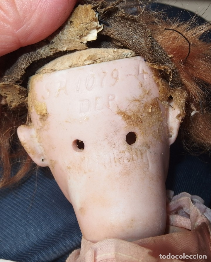 Muñecas Porcelana: MUÑECA PORCELANA DE OJAZOS GRANDES,S H 1079-4,SIMON & HALBIG,DEP GERMANY,PRINCIPIO S.XX - Foto 5 - 167766077