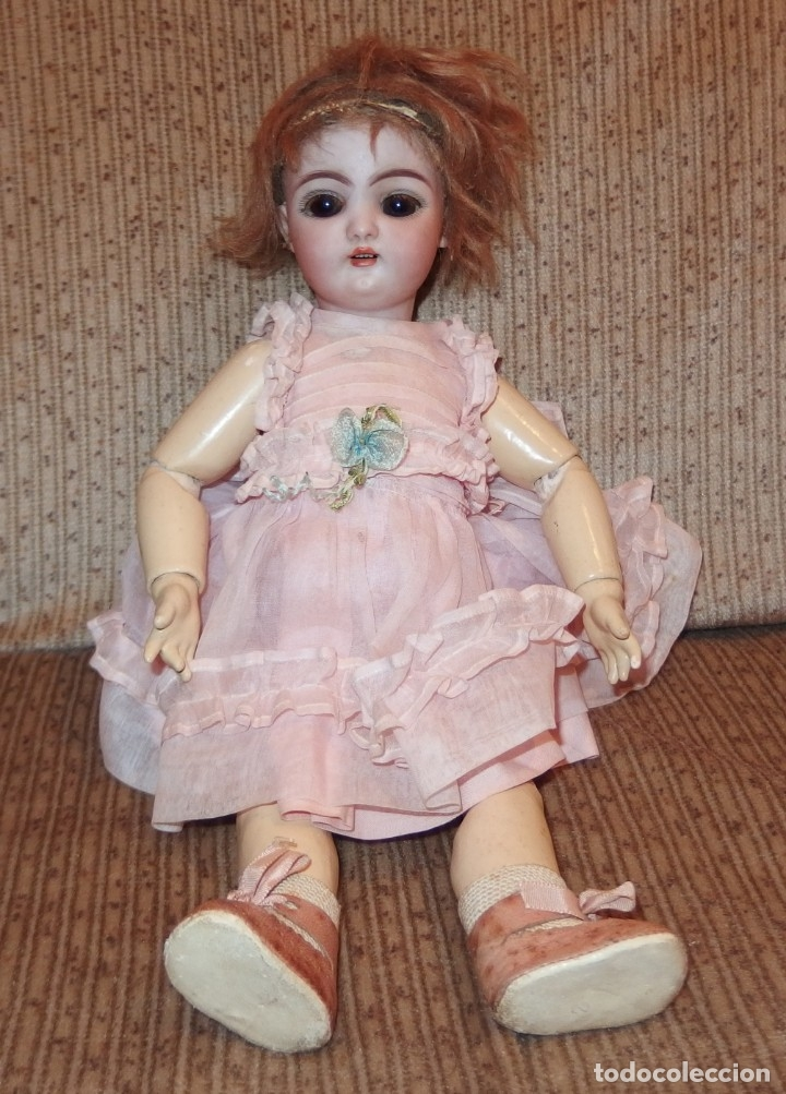 Muñecas Porcelana: MUÑECA PORCELANA DE OJAZOS GRANDES,S H 1079-4,SIMON & HALBIG,DEP GERMANY,PRINCIPIO S.XX - Foto 7 - 167766077