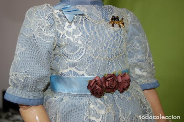 Muñecas Porcelana: muñeca MOA molde 200 - Foto 14 - 167832644