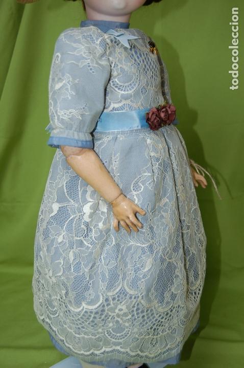 Muñecas Porcelana: muñeca MOA molde 200 - Foto 17 - 167832644