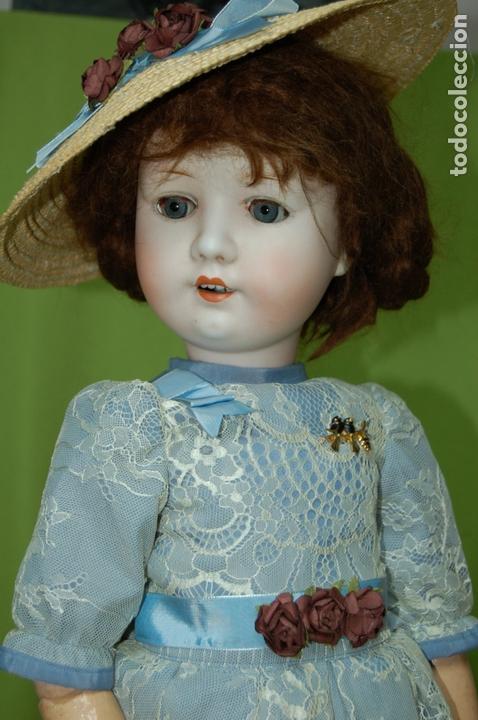 Muñecas Porcelana: muñeca MOA molde 200 - Foto 3 - 167832644