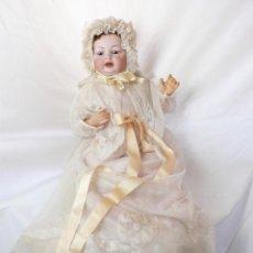 Muñecas Porcelana: RARO BEBÉ DE CARACTER SIMON HALBIG. Lote 168364152