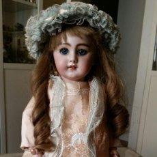 Muñecas Porcelana: MUÑECA DE PORCELANA DE 45 CM DEP SIMON Y HALBIG HABLADORA. Lote 168810788