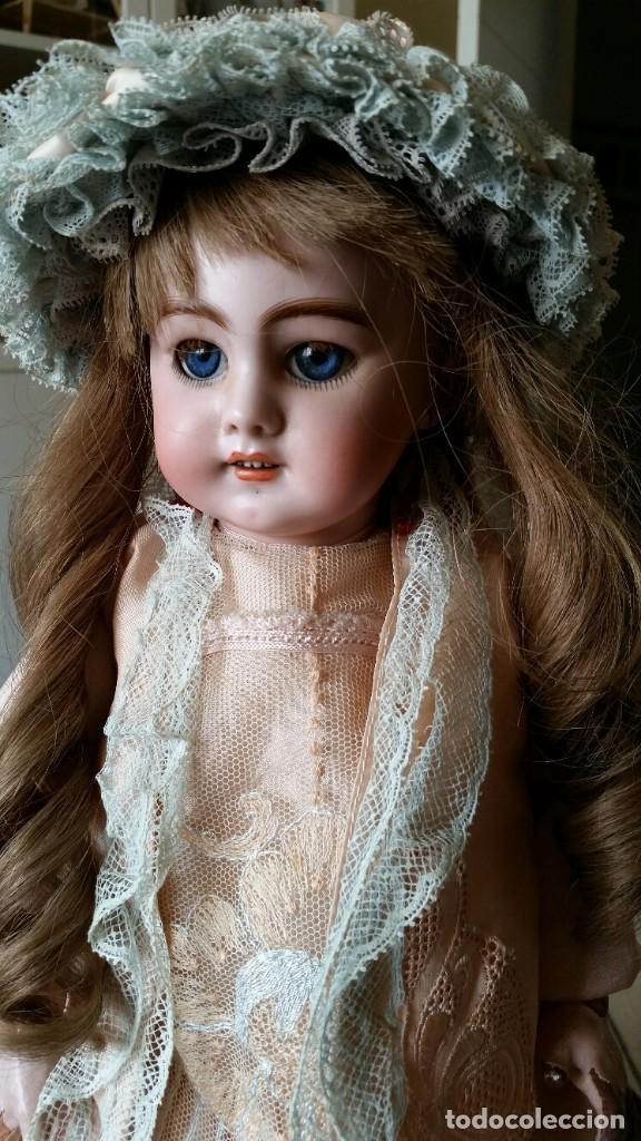 Muñecas Porcelana: MUÑECA DE PORCELANA DE 45 CM DEP SIMON Y HALBIG HABLADORA - Foto 3 - 168810788