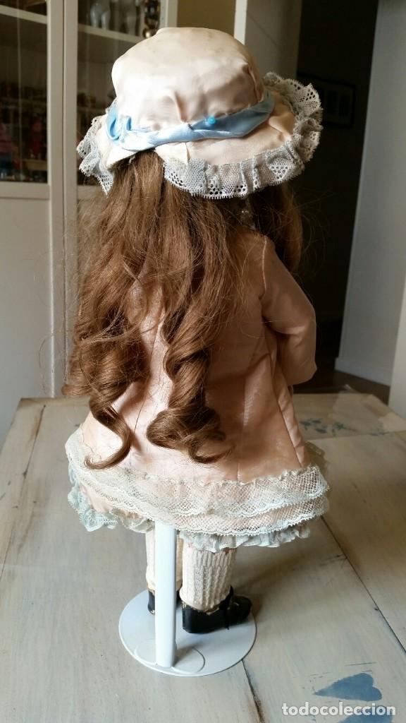 Muñecas Porcelana: MUÑECA DE PORCELANA DE 45 CM DEP SIMON Y HALBIG HABLADORA - Foto 4 - 168810788