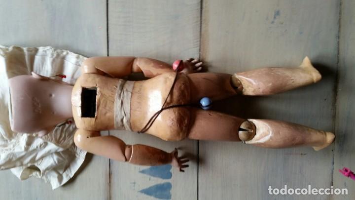 Muñecas Porcelana: MUÑECA DE PORCELANA DE 45 CM DEP SIMON Y HALBIG HABLADORA - Foto 10 - 168810788