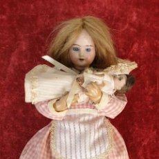 Muñecas Porcelana: MUÑECA AUTÓMATA. CAJA DE MÚSICA. ARMAND MARSEILLE. MADE IN GERMANY. SIGLO XIX-XX. Lote 169564336
