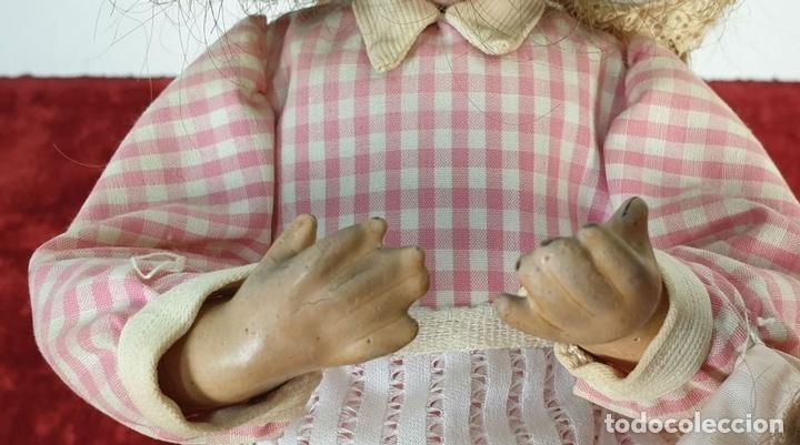 Muñecas Porcelana: MUÑECA AUTÓMATA. CAJA DE MÚSICA. ARMAND MARSEILLE. MADE IN GERMANY. SIGLO XIX-XX - Foto 4 - 169564336