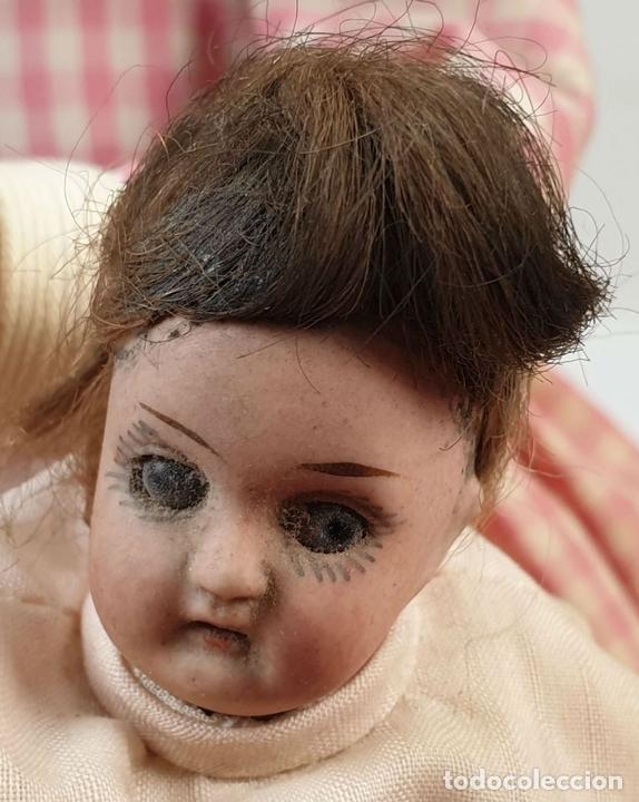 Muñecas Porcelana: MUÑECA AUTÓMATA. CAJA DE MÚSICA. ARMAND MARSEILLE. MADE IN GERMANY. SIGLO XIX-XX - Foto 6 - 169564336