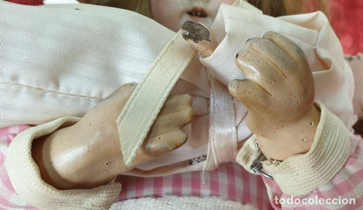 Muñecas Porcelana: MUÑECA AUTÓMATA. CAJA DE MÚSICA. ARMAND MARSEILLE. MADE IN GERMANY. SIGLO XIX-XX - Foto 8 - 169564336