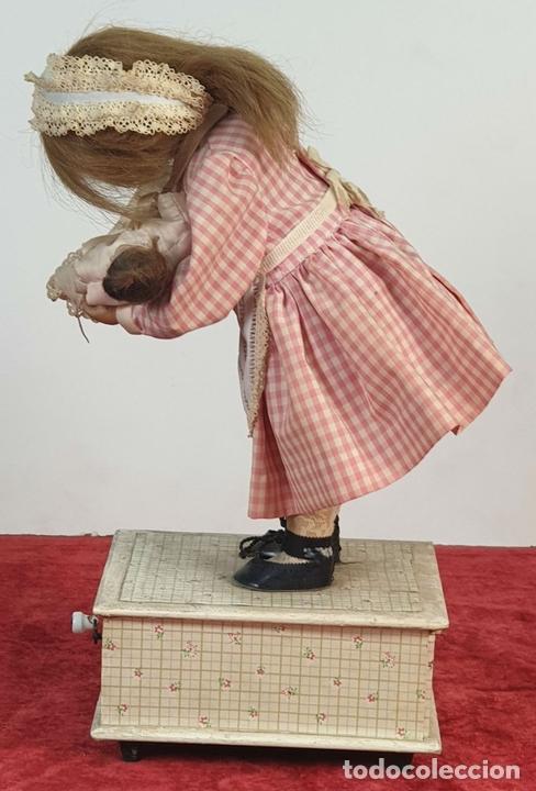 Muñecas Porcelana: MUÑECA AUTÓMATA. CAJA DE MÚSICA. ARMAND MARSEILLE. MADE IN GERMANY. SIGLO XIX-XX - Foto 9 - 169564336
