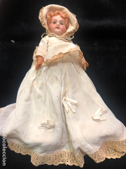 Muñecas Porcelana: MUÑECA ALEMANA CARA DE PORCELANA Y CUERPO DE CARTON PIEDRA - PRINCIPIO SIGLO XX - MEDIDA 30 CM - Foto 2 - 170479244