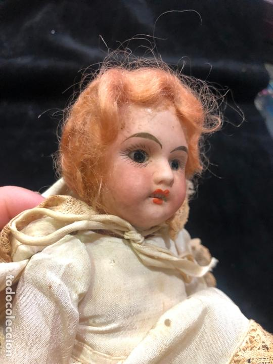 Muñecas Porcelana: MUÑECA ALEMANA CARA DE PORCELANA Y CUERPO DE CARTON PIEDRA - PRINCIPIO SIGLO XX - MEDIDA 30 CM - Foto 3 - 170479244
