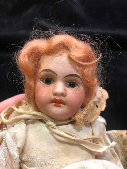 Muñecas Porcelana: MUÑECA ALEMANA CARA DE PORCELANA Y CUERPO DE CARTON PIEDRA - PRINCIPIO SIGLO XX - MEDIDA 30 CM - Foto 4 - 170479244