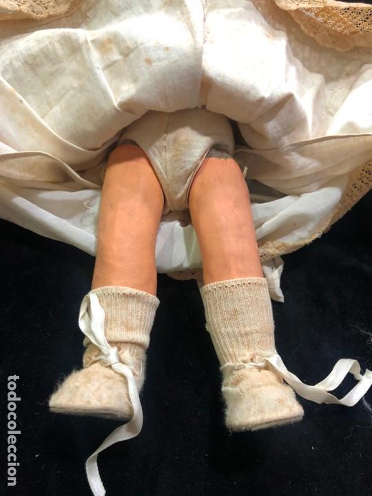 Muñecas Porcelana: MUÑECA ALEMANA CARA DE PORCELANA Y CUERPO DE CARTON PIEDRA - PRINCIPIO SIGLO XX - MEDIDA 30 CM - Foto 7 - 170479244