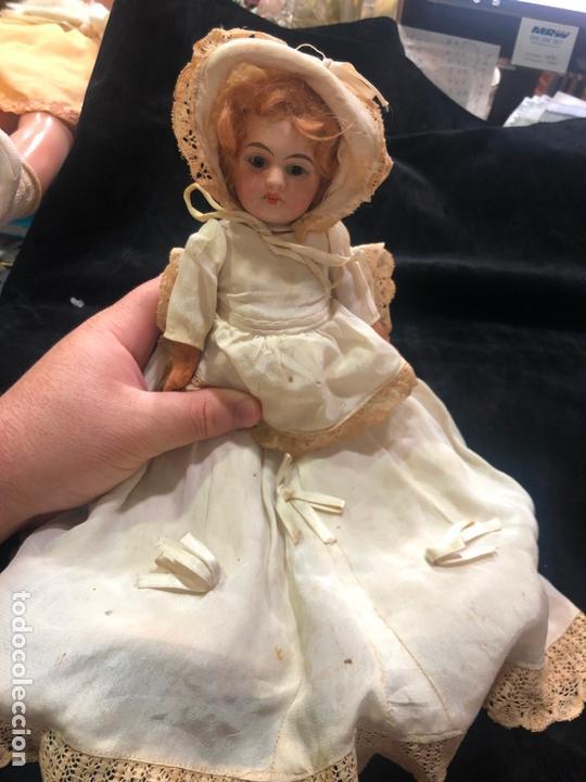 Muñecas Porcelana: MUÑECA ALEMANA CARA DE PORCELANA Y CUERPO DE CARTON PIEDRA - PRINCIPIO SIGLO XX - MEDIDA 30 CM - Foto 8 - 170479244