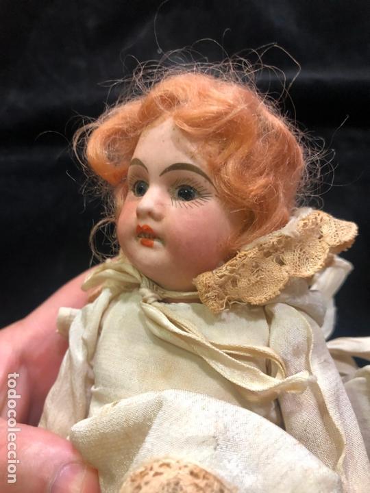 Muñecas Porcelana: MUÑECA ALEMANA CARA DE PORCELANA Y CUERPO DE CARTON PIEDRA - PRINCIPIO SIGLO XX - MEDIDA 30 CM - Foto 10 - 170479244