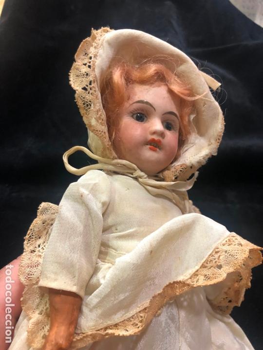 Muñecas Porcelana: MUÑECA ALEMANA CARA DE PORCELANA Y CUERPO DE CARTON PIEDRA - PRINCIPIO SIGLO XX - MEDIDA 30 CM - Foto 13 - 170479244