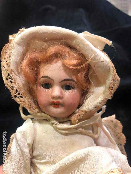 Muñecas Porcelana: MUÑECA ALEMANA CARA DE PORCELANA Y CUERPO DE CARTON PIEDRA - PRINCIPIO SIGLO XX - MEDIDA 30 CM - Foto 14 - 170479244