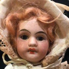 Muñecas Porcelana: MUÑECA ALEMANA CARA DE PORCELANA Y CUERPO DE CARTON PIEDRA - PRINCIPIO SIGLO XX - MEDIDA 30 CM. Lote 170479244