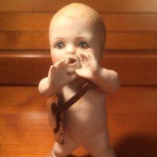 Muñecas Porcelana: BEBÉ PORCELANA BISCUIT PIANO BABY HEUBACH. Lote 171161430