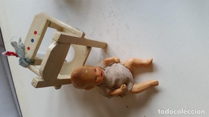 Muñecas Porcelana: ANTIGUA MONECA DE COLECION HECHA DE PORCELANA MADE GERMANY ANOS 30,40 EN SUA CADARITA - Foto 4 - 173107750