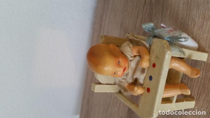 Muñecas Porcelana: ANTIGUA MONECA DE COLECION HECHA DE PORCELANA MADE GERMANY ANOS 30,40 EN SUA CADARITA - Foto 8 - 173107750