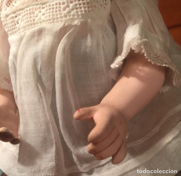 Muñecas Porcelana: Muñeco Franz Schimdt&Company 1271/23Z Deponient biscuit porcelana 1890 - Foto 4 - 173577158