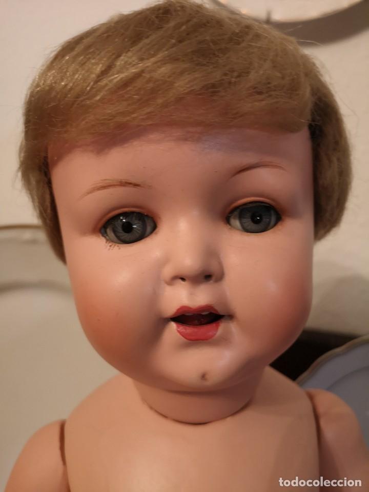 Muñecas Porcelana: PRECIOSO BEBE ARMAND MARSELLE 50 CM AÑOS 30,VA MARCADO,(ROPA NO INCLUIDA) - Foto 6 - 174370442