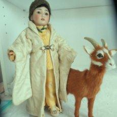 Muñecas Porcelana: ORIENTAL. SIMON&HALBIG, MOLDE 1329 33 CM. SIN DEFECTOS NI REPARACIONES. ESTADO ORIGEN. Lote 175877353