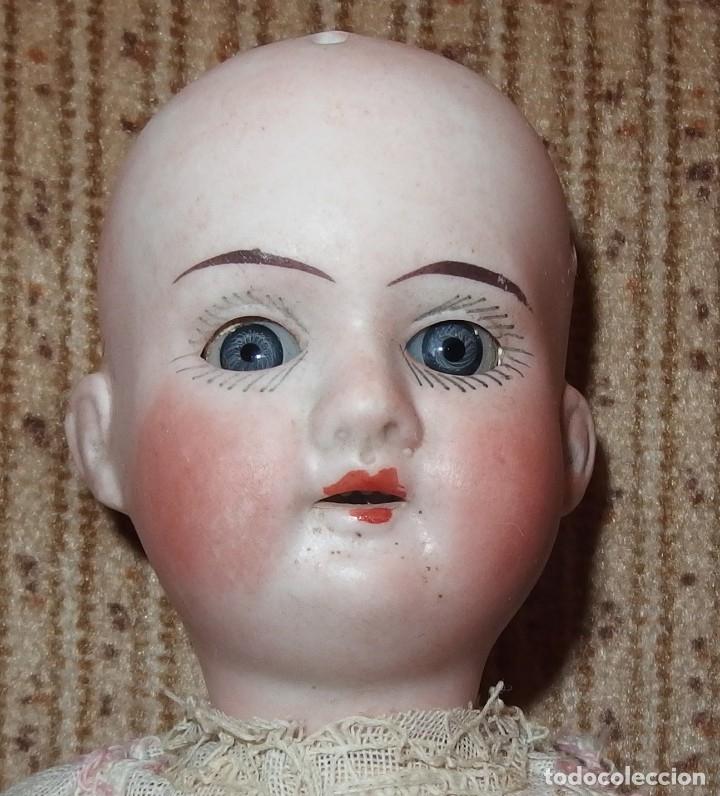Muñecas Porcelana: PEQUEÑA MUÑECA GREBÜDER KNOCH,PORCELANA,GERMANY,201,ARTICULADA,25 CMS,CUERPO MARCADO,PPIO S.XX - Foto 3 - 176502427