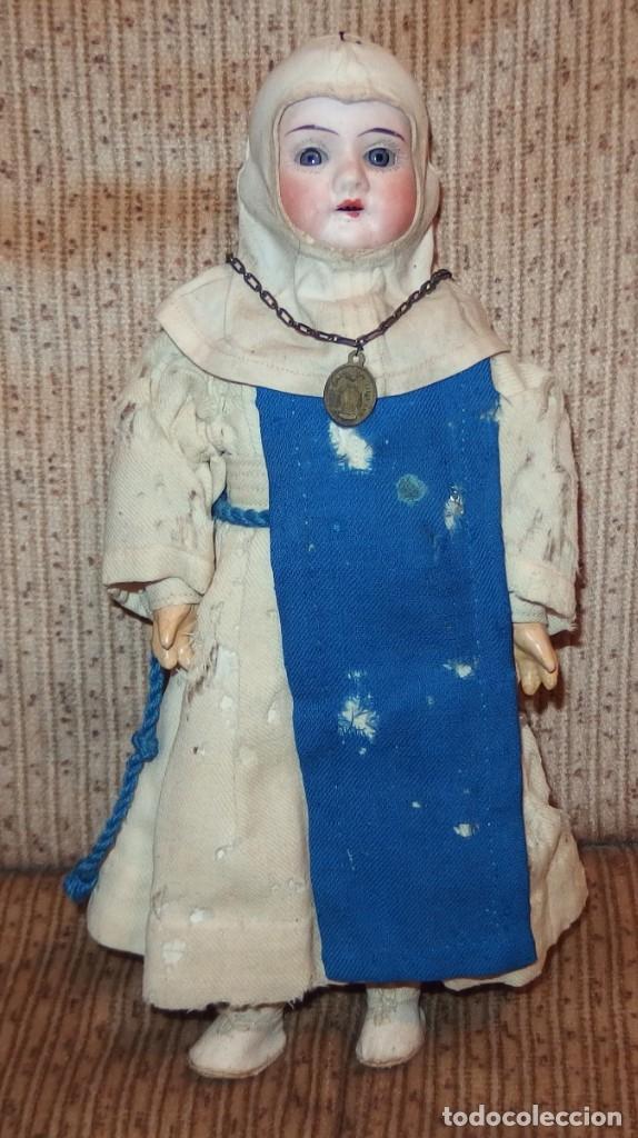 Muñecas Porcelana: PEQUEÑA MUÑECA GREBÜDER KNOCH,PORCELANA,GERMANY,201,ARTICULADA,25 CMS,CUERPO MARCADO,PPIO S.XX - Foto 4 - 176502427