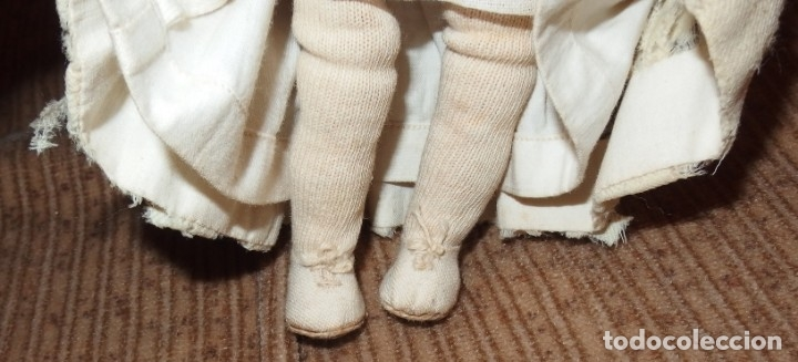 Muñecas Porcelana: PEQUEÑA MUÑECA GREBÜDER KNOCH,PORCELANA,GERMANY,201,ARTICULADA,25 CMS,CUERPO MARCADO,PPIO S.XX - Foto 8 - 176502427