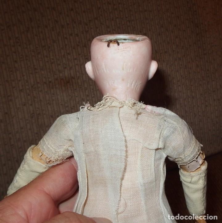 Muñecas Porcelana: PEQUEÑA MUÑECA GREBÜDER KNOCH,PORCELANA,GERMANY,201,ARTICULADA,25 CMS,CUERPO MARCADO,PPIO S.XX - Foto 14 - 176502427