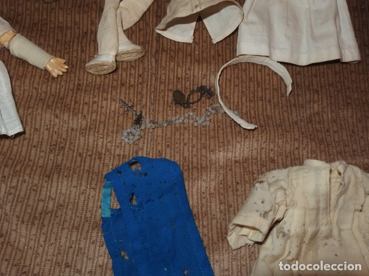 Muñecas Porcelana: PEQUEÑA MUÑECA GREBÜDER KNOCH,PORCELANA,GERMANY,201,ARTICULADA,25 CMS,CUERPO MARCADO,PPIO S.XX - Foto 32 - 176502427