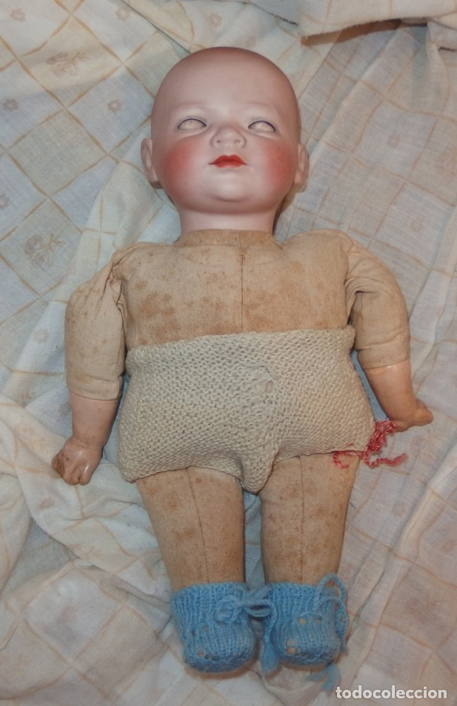 Muñecas Porcelana: SIEGFRIED BABY,BABY REGIS,PORCELANA,KESTNER,GERMANY,FINALES DEL S.XIX - Foto 18 - 177048828