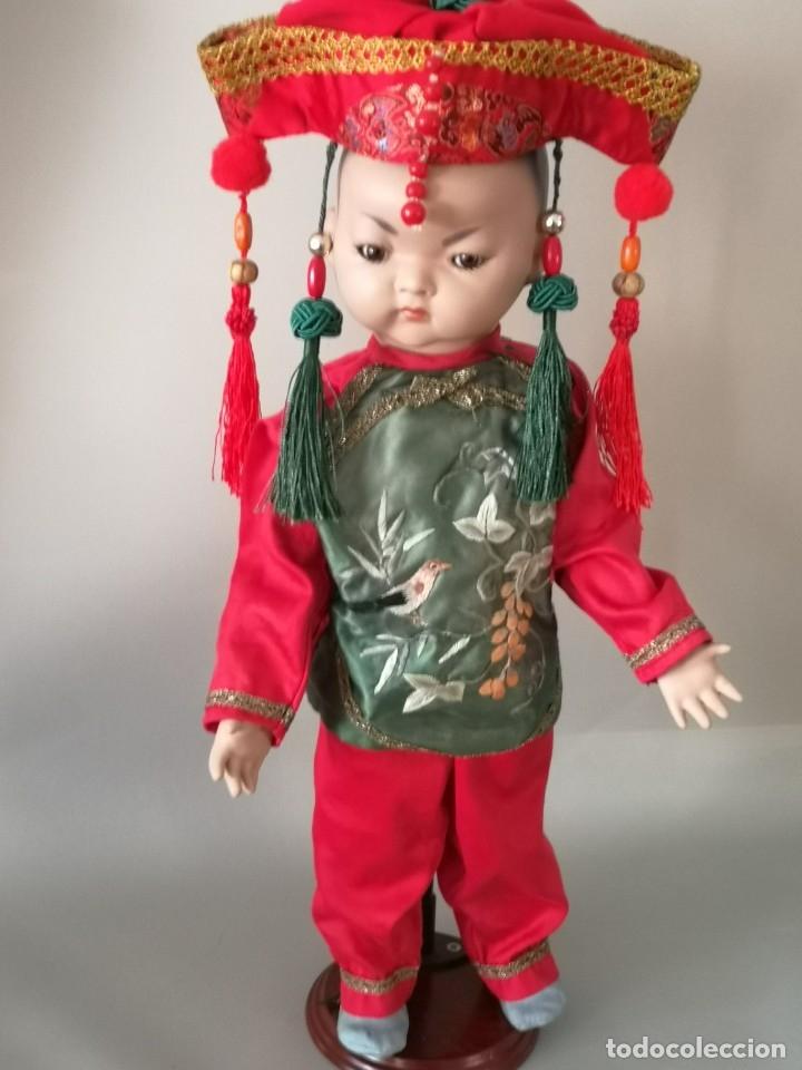 Muñecas Porcelana: IMPRESIONANTE JOYA DE COLECCIONISTA PAREJA DE ASIATICO AÑOS 40 ,PORCELANA ALEMANA - Foto 5 - 177955903