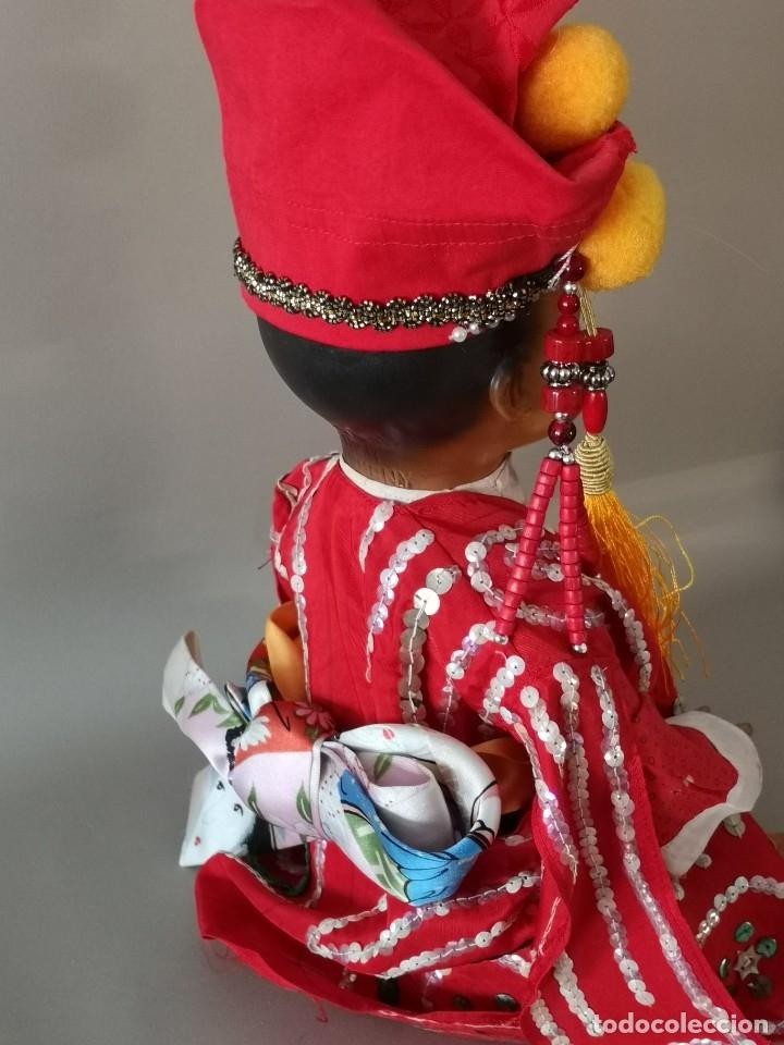 Muñecas Porcelana: IMPRESIONANTE JOYA DE COLECCIONISTA PAREJA DE ASIATICO AÑOS 40 ,PORCELANA ALEMANA - Foto 12 - 177955903