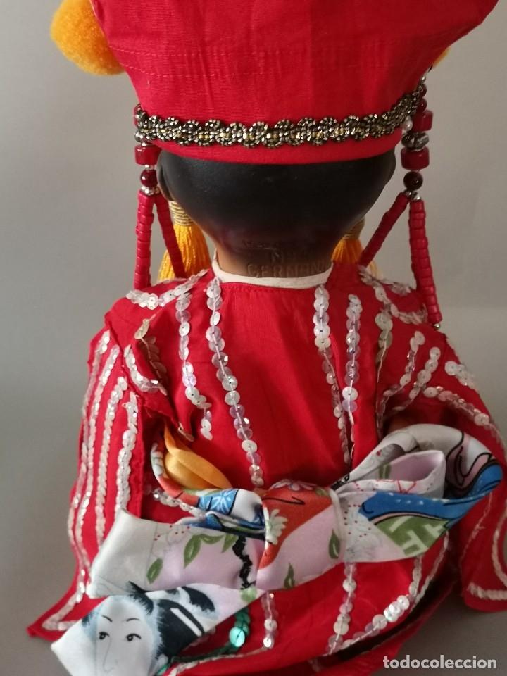 Muñecas Porcelana: IMPRESIONANTE JOYA DE COLECCIONISTA PAREJA DE ASIATICO AÑOS 40 ,PORCELANA ALEMANA - Foto 14 - 177955903